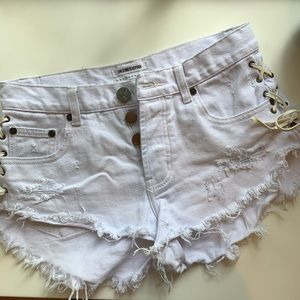 ONE X ONETEASPOON Shorts